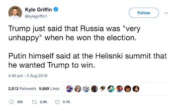 Kyle Griffin tweet